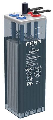 Batería Solar FAAM STA OPzS Solar Akkubatt