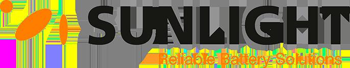 Baterias para carretillas sunlight logo