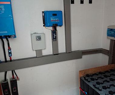 Instalación fotovoltaica akkubatt