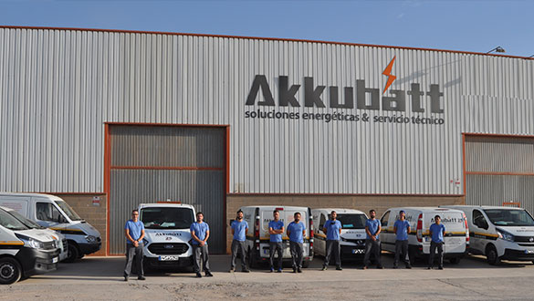 Servico técnico Akkubatt
