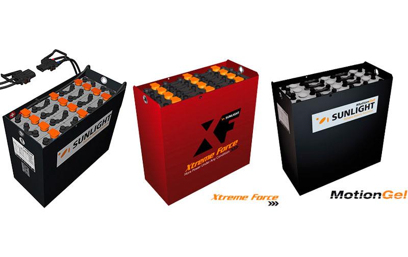 Baterias de tracción Sunlight Akkubatt